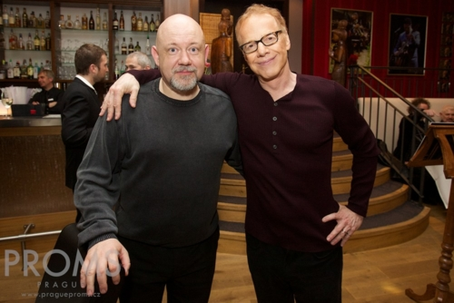 with Danny Elfman